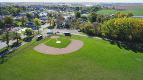 Kensington baseball field.  Home to the Kensington Norsemen and Outlaws